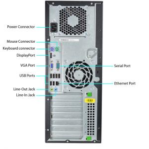 HP 8100 Elite MT i7-860 16GB 480SSD RX470 8GB DVD WIN7Pro