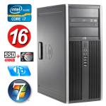 HP 8100 Elite MT i7-860 16GB 480SSD+500GB NVS450 DVD WIN7Pro