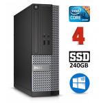DELL 3020 SFF i3-4130 4GB 240SSD DVDRW WIN10Pro