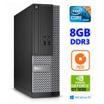 DELL 3020 SFF i3-4130 8GB 250GB GT1030 2GB DVDRW WIN10Pro