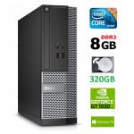 DELL 3020 SFF i3-4130 8GB 320GB GT1030 2GB DVDRW WIN10Pro