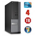 DELL 3020 SFF i3-4130 4GB 1TB DVDRW WIN7Pro