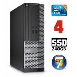 DELL 3020 SFF i3-4130 4GB 240SSD DVDRW WIN7Pro