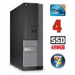 DELL 3020 SFF i3-4130 4GB 480SSD DVDRW WIN7Pro