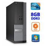DELL 3020 SFF i3-4130 8GB 250GB DVDRW WIN7Pro