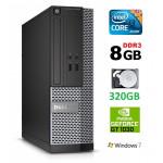DELL 3020 SFF i3-4130 8GB 320GB GT1030 2GB DVDRW WIN7Pro