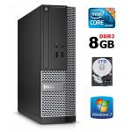 DELL 3020 SFF i3-4130 8GB 2TB DVDRW WIN7Pro