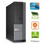 DELL 3020 SFF i3-4130 4GB 250GB GT1030 2GB DVDRW WIN7Pro