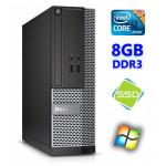 DELL 3020 SFF i3-4130 8GB 120SSD DVDRW WIN7Pro