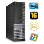 DELL 3020 SFF i3-4130 16GB 120SSD DVDRW WIN7Pro