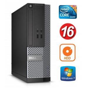 DELL 3020 SFF i3-4130 16GB 250GB DVDRW WIN7Pro