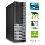 DELL 3020 SFF i3-4130 4GB 320GB GT1030 2GB DVDRW WIN7Pro