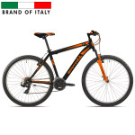 CARRATT 27.5 V-BRAKE TZ500 21V BLACK/ORANGE