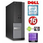 DELL 3020 SFF i3-4150 16GB 120SSD+500GB WIN10Pro