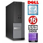 DELL 3020 SFF i3-4150 16GB 240SSD DVDRW WIN10Pro