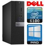 DELL 3040 SFF i3-6100 16GB 120SSD DVD WIN10Pro