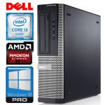 DELL 390 DT i3-2120 4GB 120SSD R7-350 4GB WIN10PRO/W7P