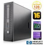 HP 600 G1 SFF i5-4570 16GB 120SSD WIN10Pro