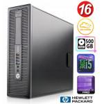 HP 600 G1 SFF i5-4570 16GB 120SSD+500GB WIN10Pro