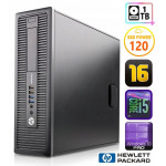 HP 600 G1 SFF i5-4570 16GB 120SSD+1TB WIN10Pro