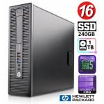 HP 600 G1 SFF i5-4570 16GB 240SSD+1TB WIN10Pro