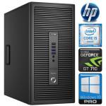 HP 600 G2 MT i5-6600K 32GB 960SSD+2TB GT710 2GB DVD WIN10Pro