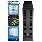 HP 600 G2 SFF i5-6600K 32GB 960SSD+2TB GT710 2GB WIN10Pro