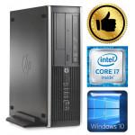 HP 8100 Elite SFF i7-870 16GB 120SSD+500GB DVD WIN10