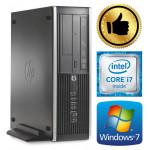 HP 8100 Elite SFF i7-870 16GB 120SSD+2TB GTX1650 4GB DVD WIN7Pro