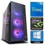 INTOP i5-11600K 16GB 240SSD M.2 NVME GTX1660 SUPER 6GB WIN10