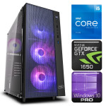 INTOP i5-11600K 16GB 240SSD M.2 NVME GTX1650 4GB WIN10Pro