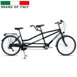 City Bike Carratt Tandem 5000 26 7V TX35 Black  (Rata izmērs: 26