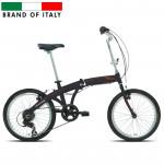 """Saliekams velosipēds Carratt  Piegh. 20 ALU 6V TX35 Black (Rata izmērs: 20"""") 65994"""