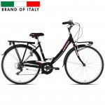 Kalnu velosipēds Esperia 2100 Mono 26 TZ50 6V Black (Rata izmērs: 26