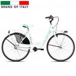 Pilsētas velosipēds Esperia Olanda 26 White/Green (Rata izmērs: 26