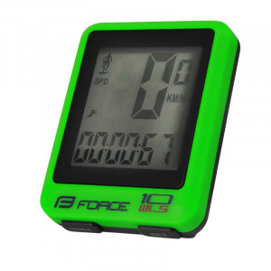 Bezvadu velodators Force WLS 10 funkciju zaļš 10133