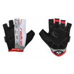 Cimdi Force Radical Black/White/Red L 65545