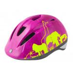 Aizsargķivere bērniem Force Fun Animal Pink/Electro Yellow S (48-54 cm) 10279