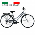 "Frejus City Bike Lady velosipēds– pelēks ar melnu (Rata izmērs: 28"") 2887"