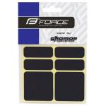 Rāmja aizsarguzlīmes Force Black 9886