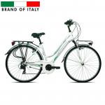 Pilsētas velosipēds Esperia 6200 TRK.28 TY300 21V White (Rata izmērs: 28