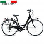 Pilsētas velosipēds Esperia 6250 TRK.28 ALU 6V TZ50 Black (Rata izmērs: 28
