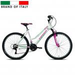 Kalnu velosipēds  Esperia 8250 26 21V TZ500 Grip White/Green (Rata izmērs: 26