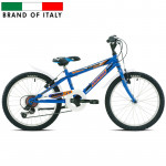 Bērnu velosipēds Esperia 9200 MTB20 6V Blue  (Rata izmērs: 20