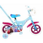 Bērnu velosipēds Disney Frozen 2 Blue / Purple 10'' 83945