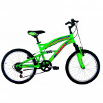 "Hogan Full Suspension bērnu velosipēds – zaļš (Rata izmērs: 20"") 2904"