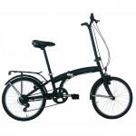 "Frejus Pieghevole Micro Bike Folding  saliekams velosipēds– melns (Rata izmērs: 20"") 2933"