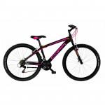Coppi MTB Lady Brave kalnu velosipēds - melns ar rozā (Rata izmērs: 27, 5